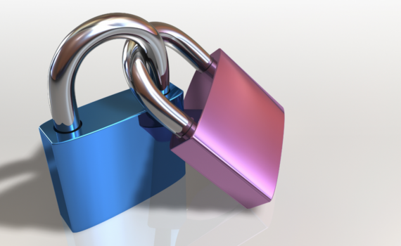 attached padlocks